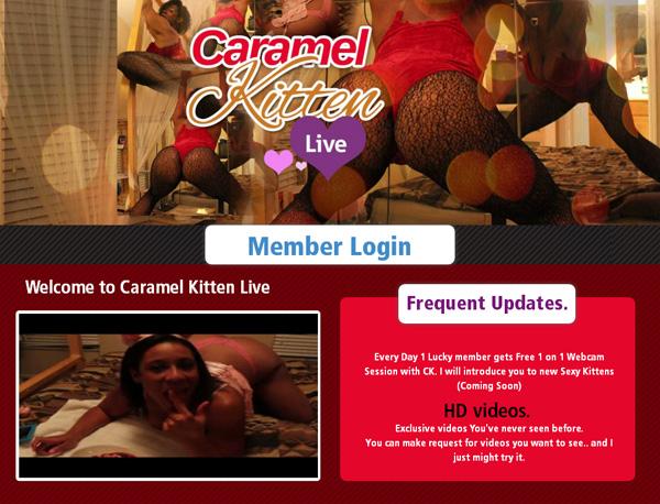Password Free Caramelkittenlive.com