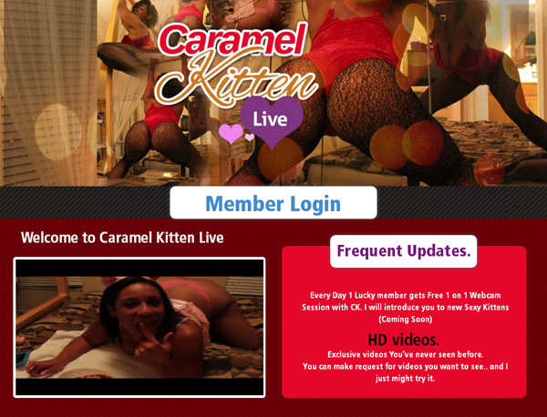 Sign Up To Caramelkittenlive.com