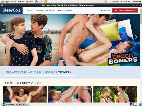 Premium 8teenboy Accounts Free